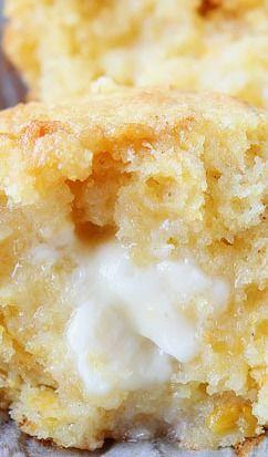 Sweet Honey & Jalapeño Cornbread Muffins #Recipe