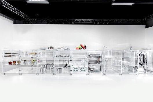 MVRDV Designs a Kitchen with Complete Transparency,© Martin Rijpstra