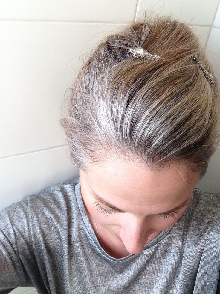 Grey is the new blonde   Or is it silver?
