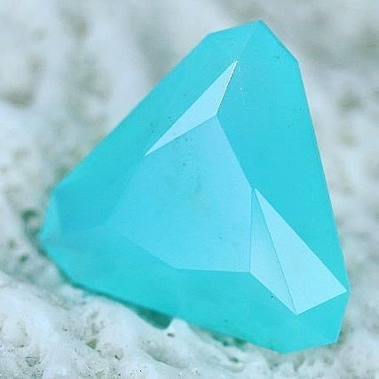 Peruvian Blue Opal is rare and such an exquisite translucent stone.  It is almost hard to describe it as an Opal as it looks more like a gemstone. It is only found in the Andes mountains in Peru.