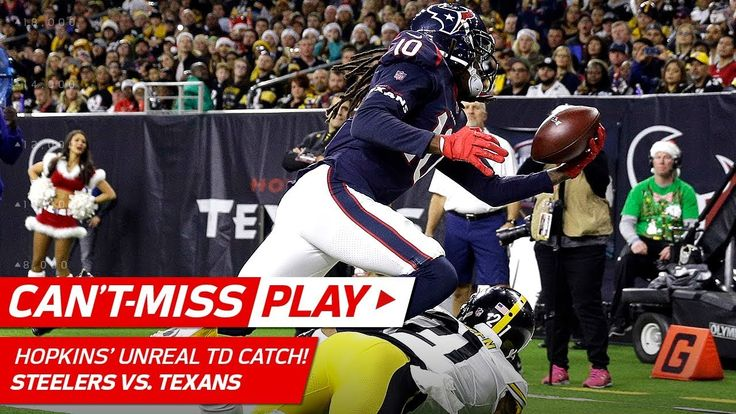 DeAndre Hopkins' TD Grab Might Be Catch of the Year! | Can't-Miss Play | NFL Wk 16 Highlights - NFL News Videos