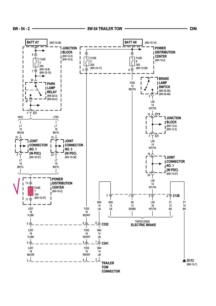 Unique 2001 Dodge Dakota Wiring Diagram In 2020