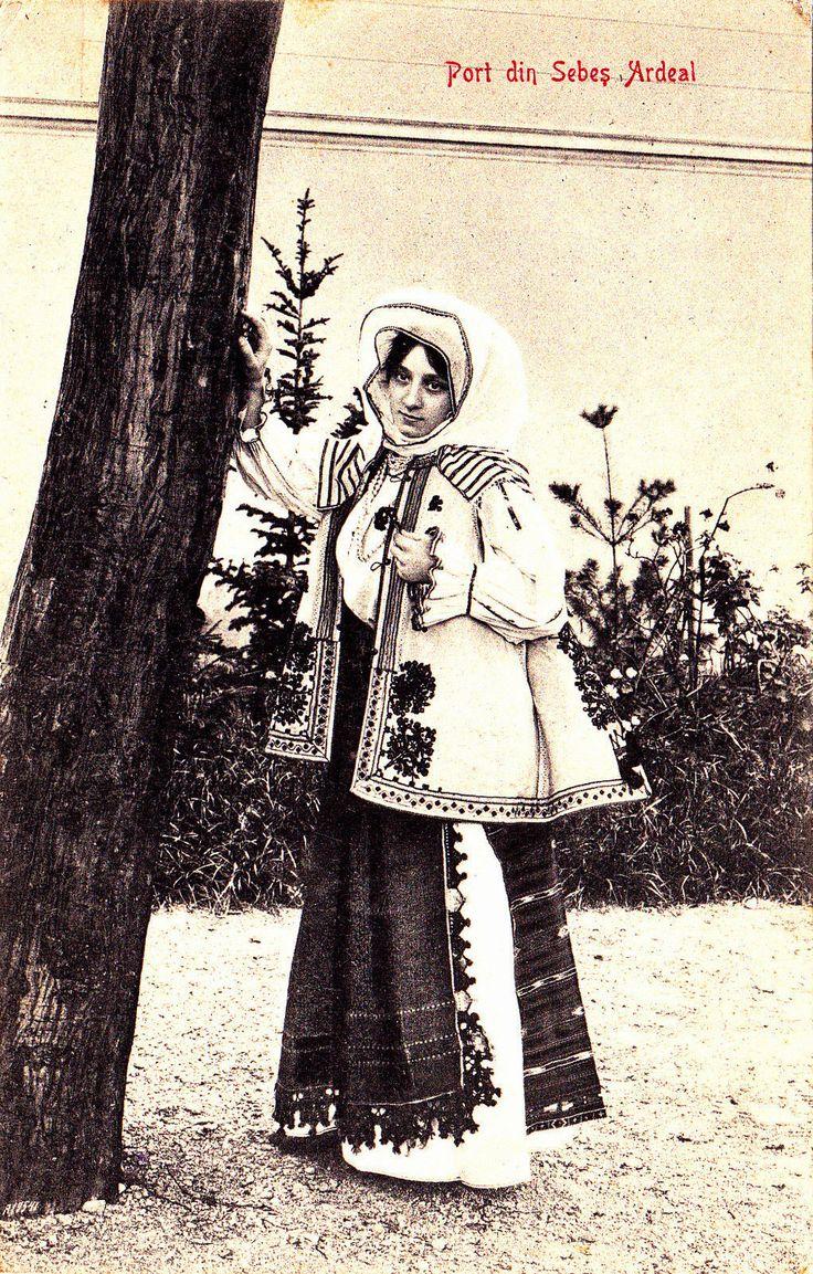 #Transylvania Port din Sebes Ardeal gel. 1906