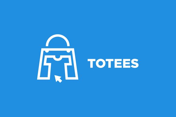 Totees - Tote Bag & Tshirt logo by SproutBox on @creativemarket