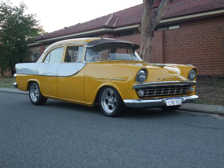 This is an Australian Holden sedan out of the GM stable. I learned to drive in one like this