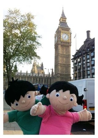 When Ladybird released 'Topsy and Tim visit London', we decided to celebrate by taking the twins out and about near Ladybird Towers to do some sightseeing!