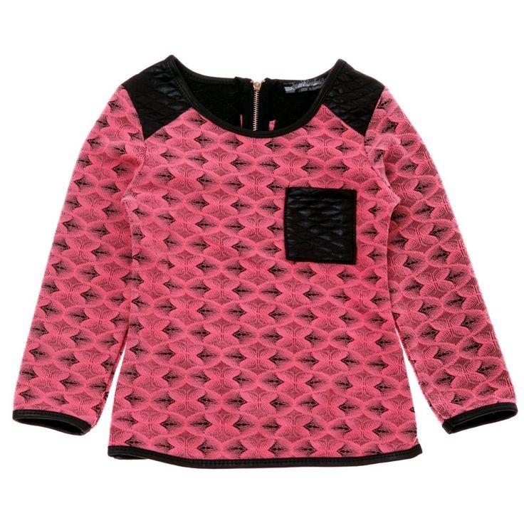 Mo Me παιδική μπλούζα «Trendy Zip»  €16,90