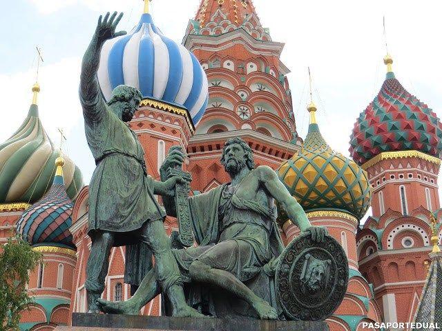 Moscú en 5 días. Qué ver en la capital de Rusia.