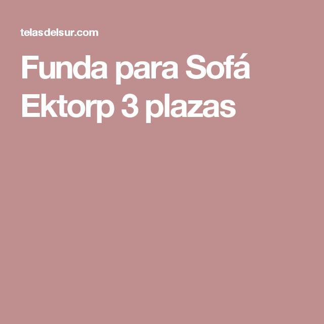 Funda para Sofá Ektorp 3 plazas