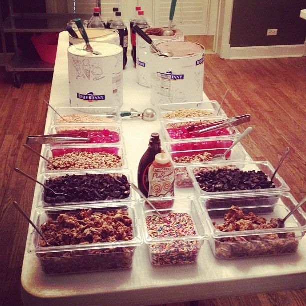 Is it Work Week yet?  Treat your members to an ice cream bar after a long day of recruitment prep.