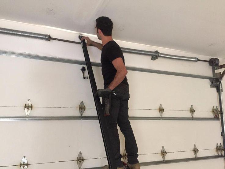 how to install a garage door opener intended for garage door opener installation simple steps to do garage door opener installation 1 1024x768 Simple Steps to Do Garage Door Opener Installation