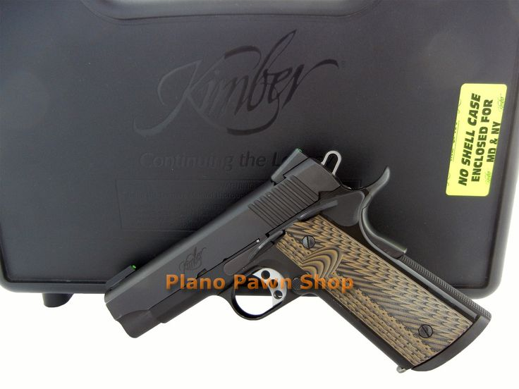 Plano Pawn Shop  - Kimber Pro Carry II .45ACP in Case with Fiber Optic Sights, $799.00 (http://www.planopawnshop.net/kimber-pro-carry-ii-45acp-in-case-with-fiber-optic-sights/)