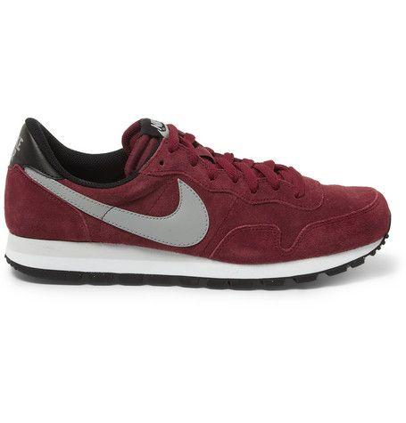 #Nike Pegasus 83 Suede Sneakers