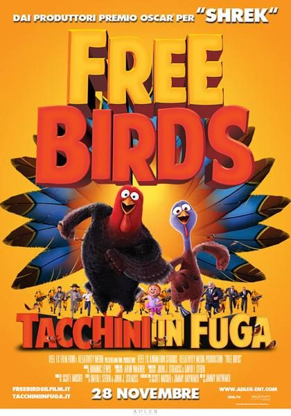 #FREEBIRDS - TACCHINI IN FUGA #BLURAY IN #3D BY #DVDLAB DISTRIBUITO DA @Kmedia2