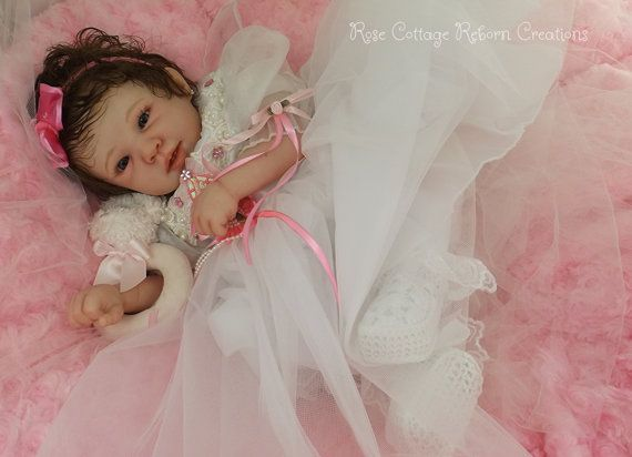 Custom Reborn Doll Raine Beautiful Layette by RoseCottageReborns