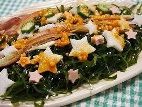 七夕仕様★切り昆布と夏野菜のあえ物&素敵な贈り物が届きました。 レシピブログ