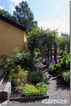 Vasamuseets trädgård, Stockholm, Sweden
