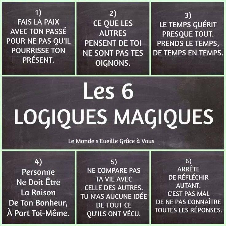 Les 6 logiques magiques                                                                                                                                                      Plus