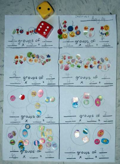 E is for Explore!: Multiplication Game: Groups of