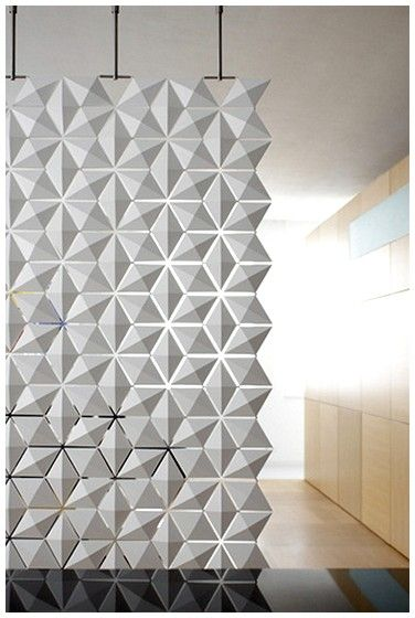 ... Dutch Have For Interior Design, Dutch Design House Bloomming Present A  Diamond Shaped Hanging Modular System That Can Function As Either A Room  Divider ...