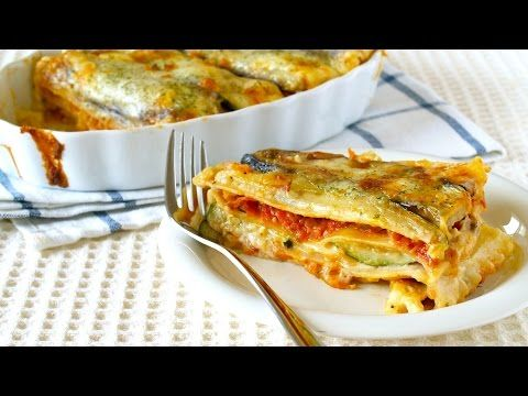 ▶ How to Make Healthy Lasagna using Vegetarian Meat Sauce (Recipe) ベジタリアンミートソースを使ったヘルシーなラザニアの作り方 (レシピ) - YouTube