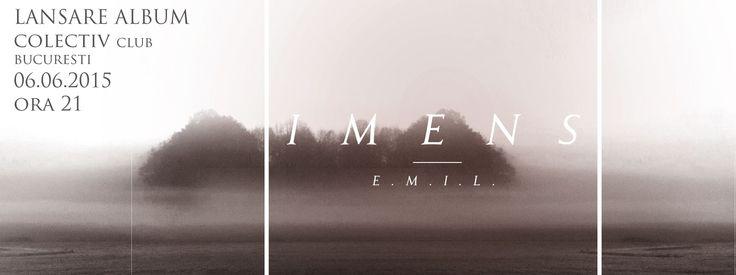 E.M.I.L - lansare album I M E N S live @ club Colectiv  6 Iunie 2015