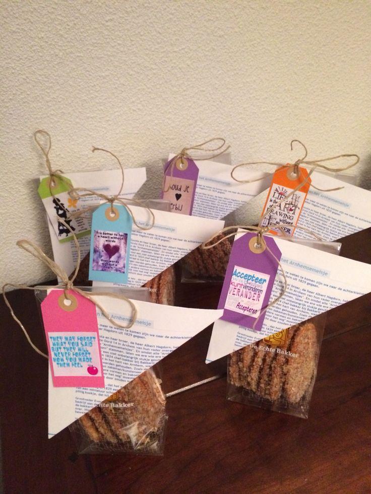 Koekje: Arnhemse meisjes met de geschiedenis op papier en mooie tekstjes van pinterest