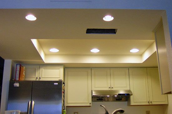 replace recessed fluorescent lights  Google Search  Ideas for the House  Pinterest  Lighting