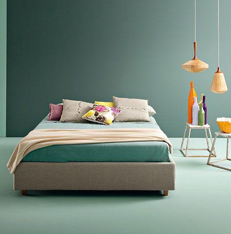1000 idee su senza testata su pinterest idee per la casa appartamento bohemien e arredamento - Cos e un letto sommier ...