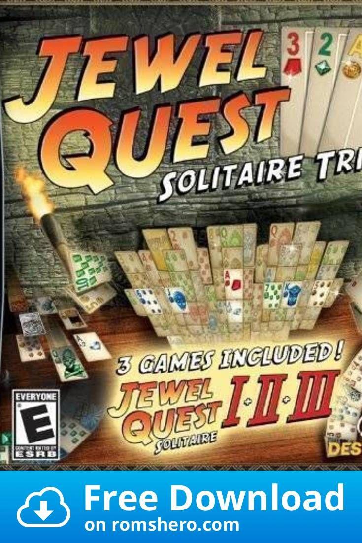 Download Jewel Quest Solitaire Trio Nintendo Ds Nds Rom Nintendo Ds Nintendo Nds