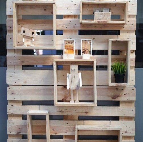 Decoraci n upcycling 10 muebles con palets para tu casa ideas con palets pinterest robot - Ideas con palets ...