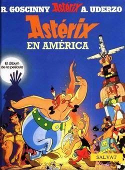 De cine no Esquío: Asterix en América