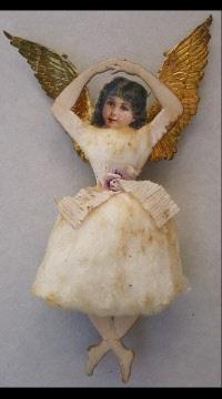 Gorgeous Antique Cotton ornament