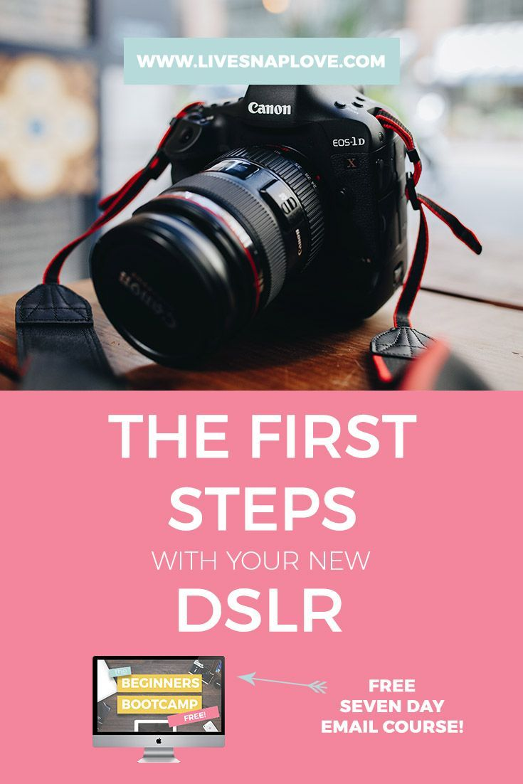 Beginner Photography Tips -  Learn the first steps in taking control of your DSLR in this photography tutorial for beginners!  You can also get a free cheat sheet download on how to blur the background!