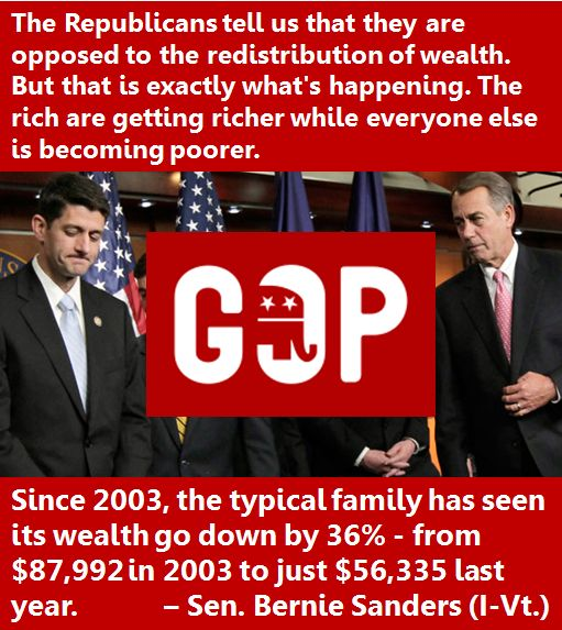 Teabagger/Republicans LIE...while they are busy stealing Tax dollars to feed the GREED of the RICH+ GOP!!!