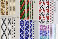 70 systèmes de harnais de crochet 9-10 perles
