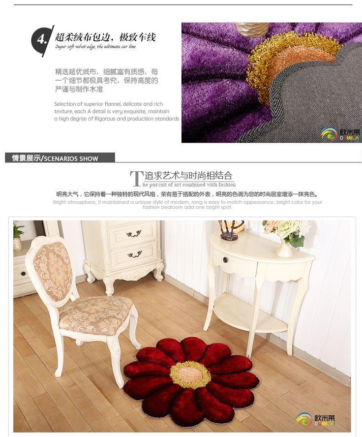 3D цветок коврики подушки ковры и для гостиной дома мягкий купить на AliExpress