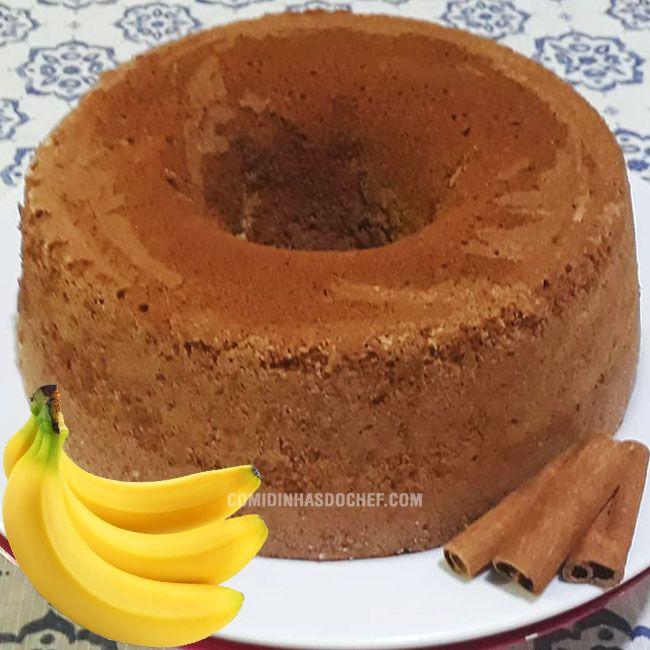 Bolo De Banana Com Canela Recette Cafe