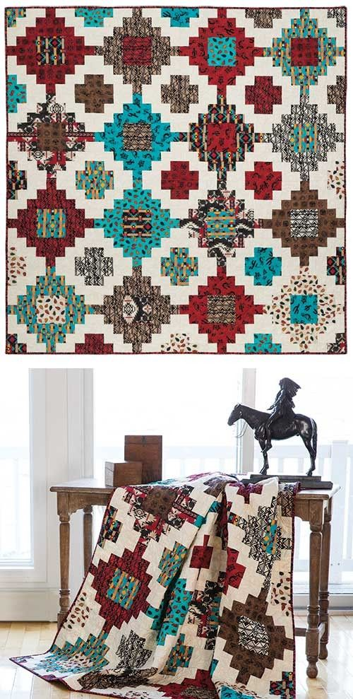Stacked Quilt Pattern