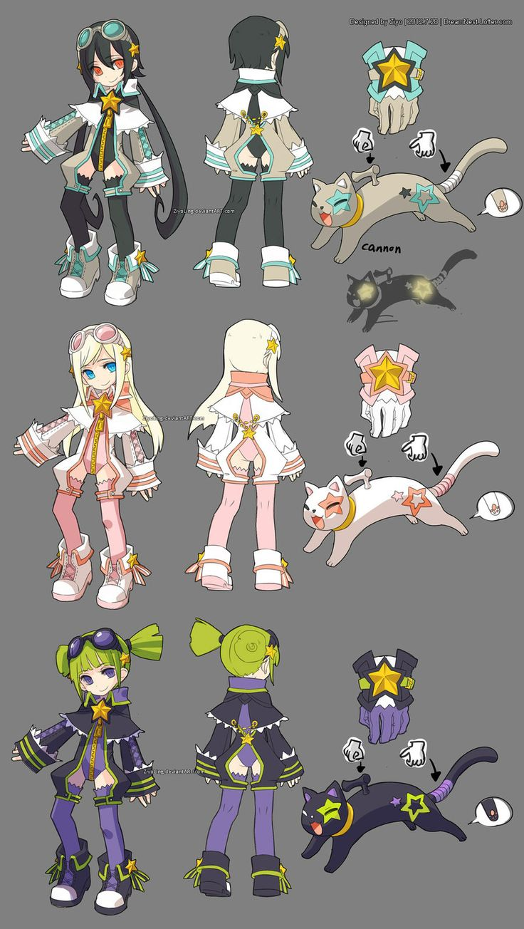 Game Character Concept Design : Best anime peques images on pinterest kawaii chibi