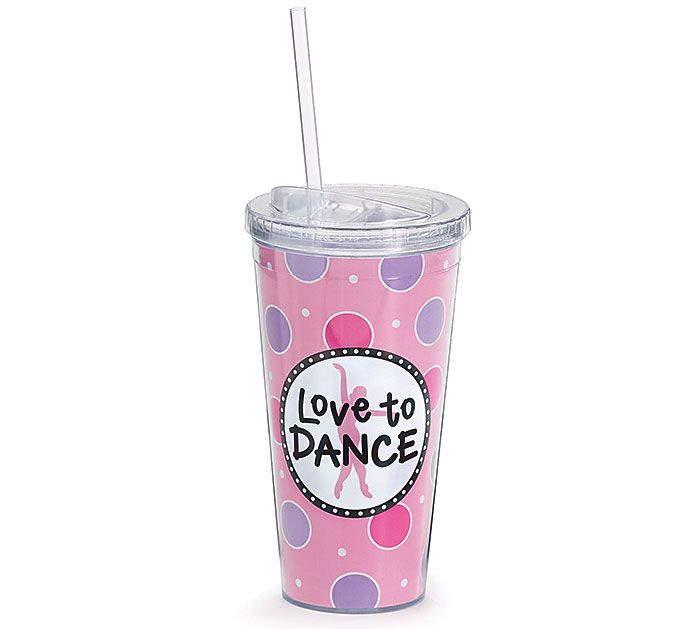 Our #burtonandburton Love to Dance Tumbler makes a great gift for your favorite dancer, so they may stay hydrated in between performances. #ballet #ballerina #dancing