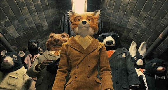 The Fantastic Mr.Fox   Really - who on earth would have thought animals to be this bloody stylish and fashionable - it's insane!!