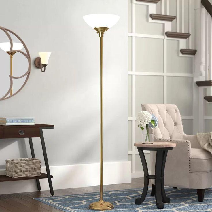 """Wendelgard 71"""" Torchiere Floor Lamp Torchiere floor lamp"""