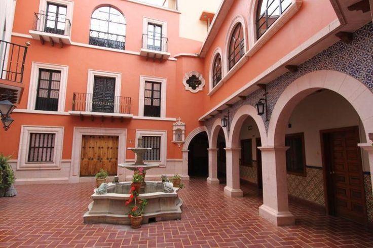 patio del hotel san diego guanajuato leyendas