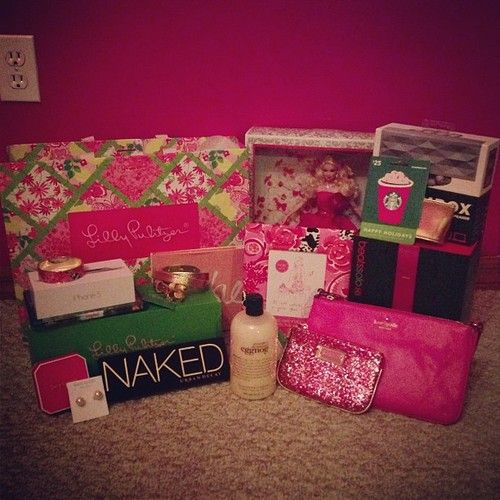 Girls on the nice list get the best presents. TSM.