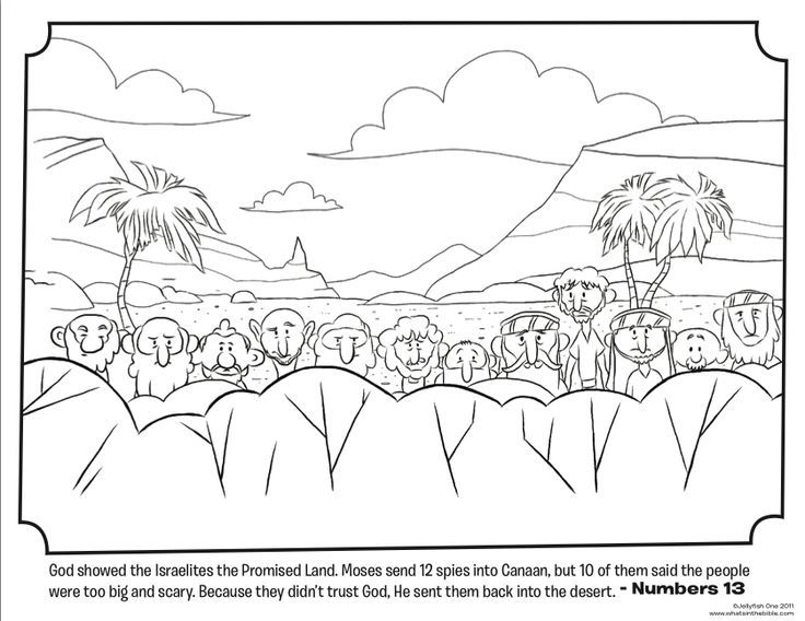 Peter Told The People About Jesus Coloring Page