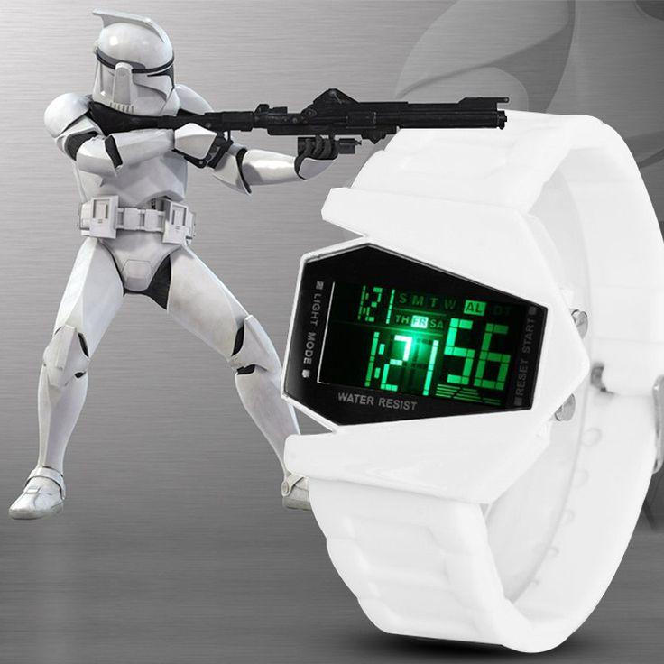 LED Digital Casual Wrist Watch //Price: $10.49 & FREE Shipping //     #starwarsday  #StarWarsCosplay  #starwarslego  #starwarsrogueone