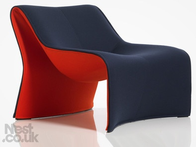 Cassina Cloth Lounge Chair