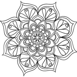 Mandala Floral #1