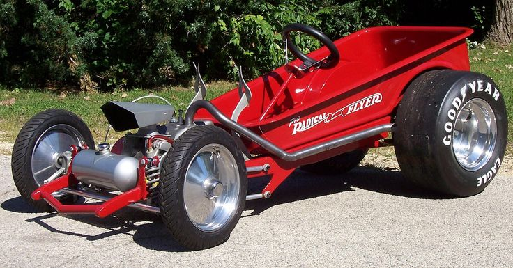 little red wagon custom | Pro Radical Red Wagon